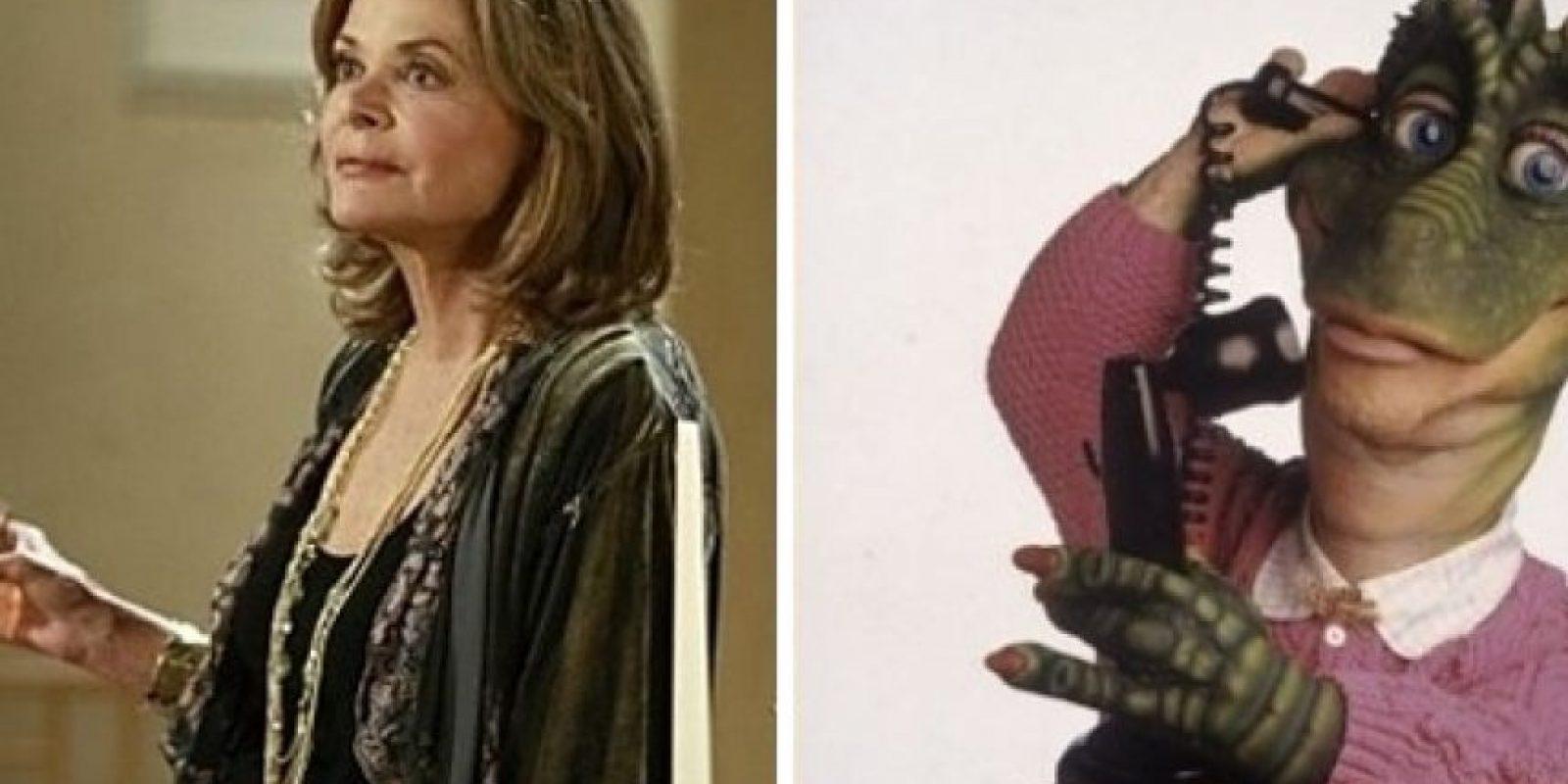Jessica Walter como Fran la Dinosaurio. Foto:Buzzfeed