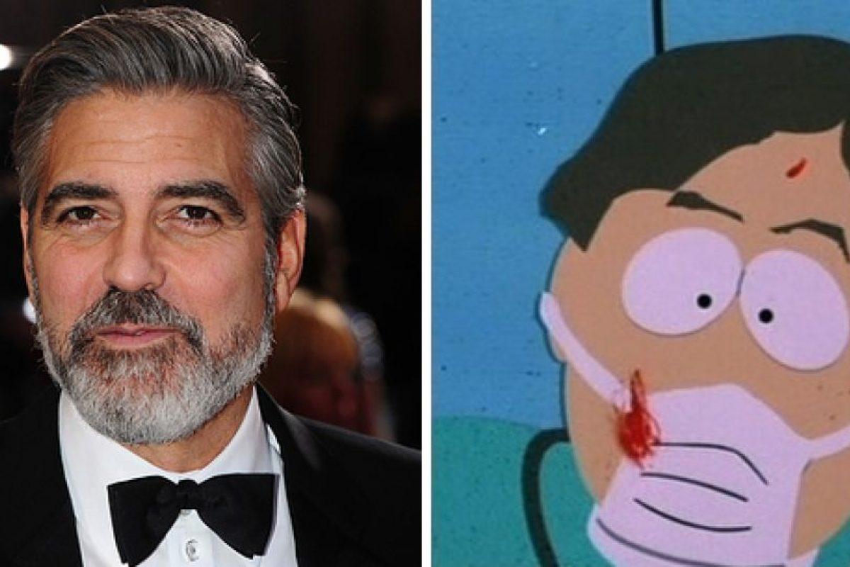 George Clooney como el doctor de South Park Foto:Buzzfeed. Imagen Por: