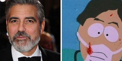 George Clooney como el doctor de South Park Foto:Buzzfeed