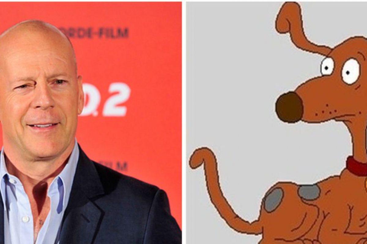 Bruce Willis como Firulais. Foto:Buzzfeed. Imagen Por: