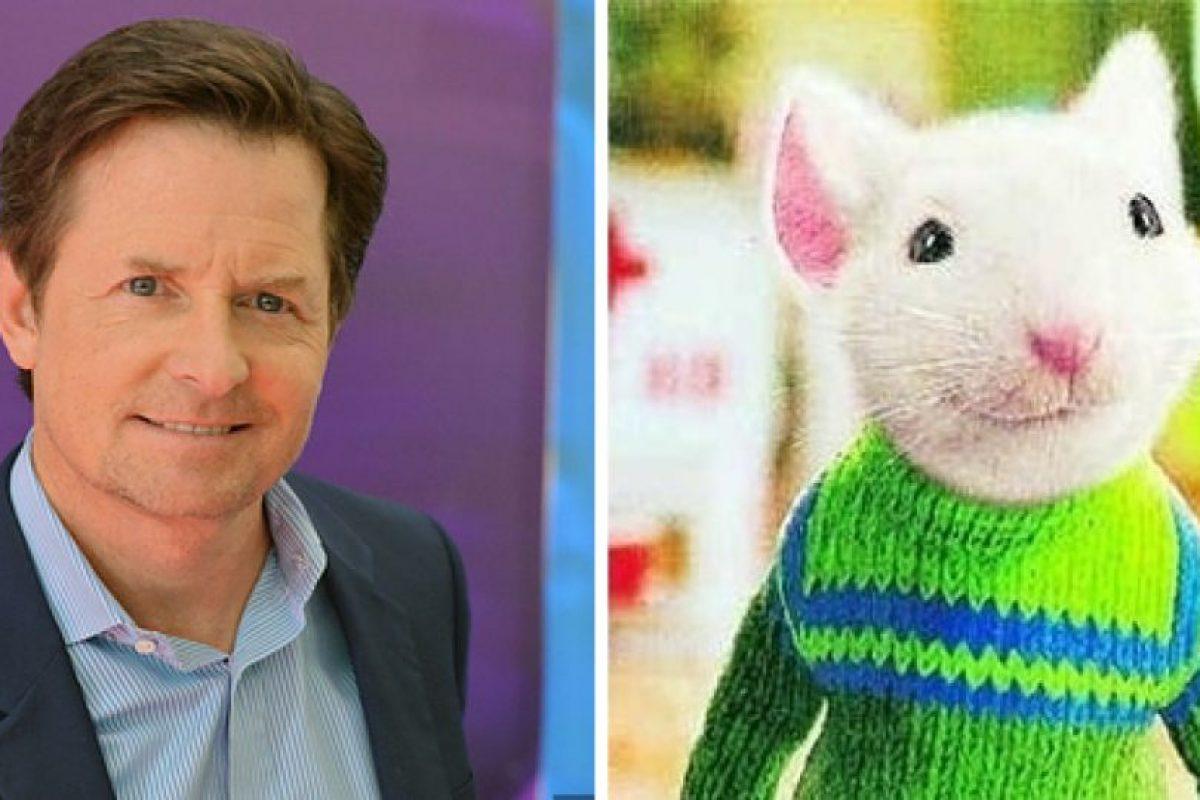 Michael J. Fox es la voz de Stuart Little. Foto:Buzzfeed. Imagen Por: