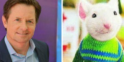 Michael J. Fox es la voz de Stuart Little. Foto:Buzzfeed