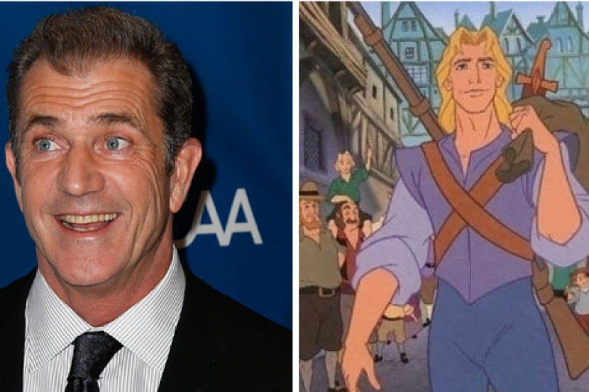 Mel Gibson es John Smith Foto:Buzzfeed. Imagen Por: