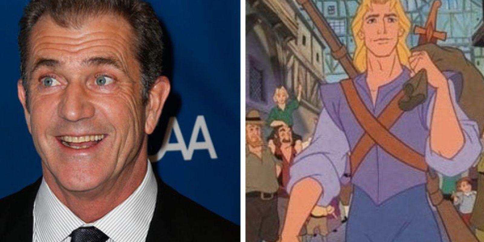 Mel Gibson es John Smith Foto:Buzzfeed