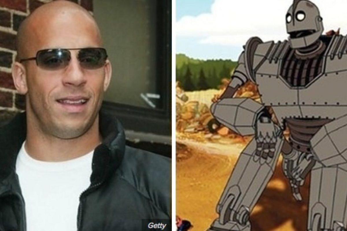 Vin Diesel es El Gigante de Hierro. Foto:Buzzfeed. Imagen Por: