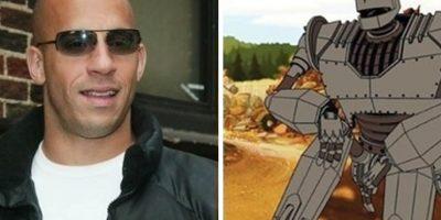 Vin Diesel es El Gigante de Hierro. Foto:Buzzfeed