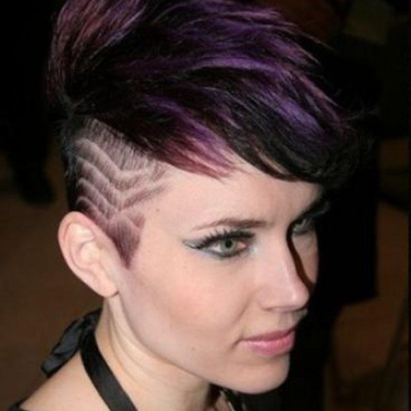 Disenos de cortes de pelo con lineas