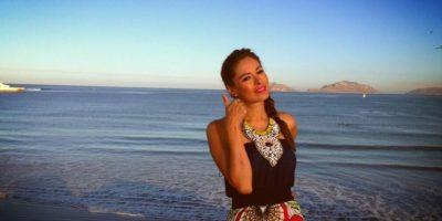 Galilea Montijo, de 40 años. Foto:Twitter