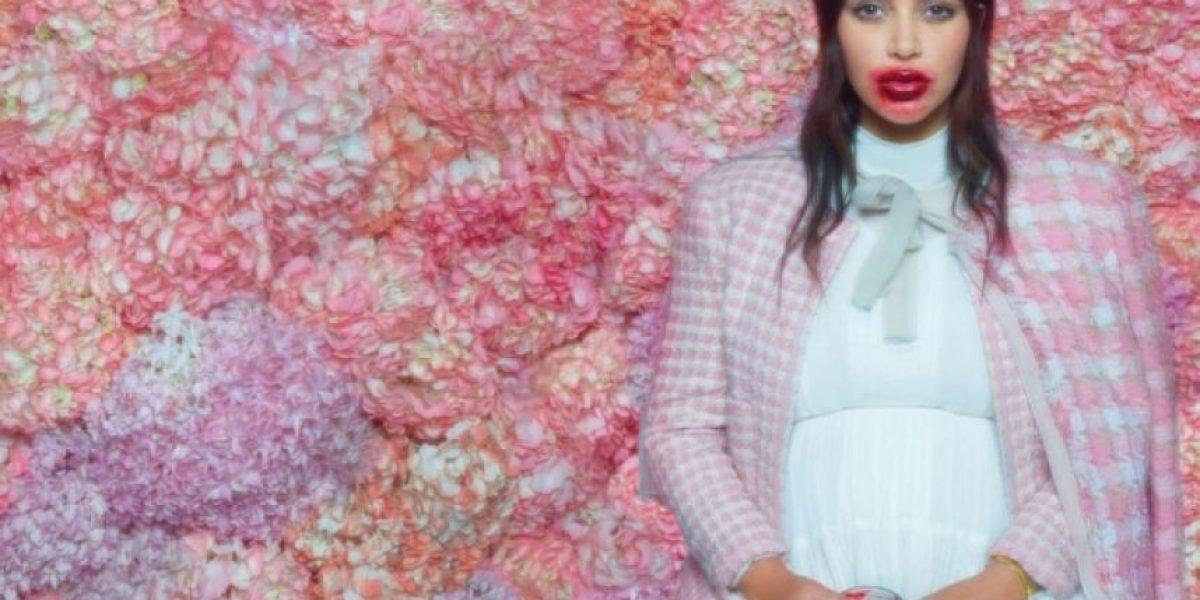 Exclusivas imágenes de Kim Kardashian antes de dar a luz