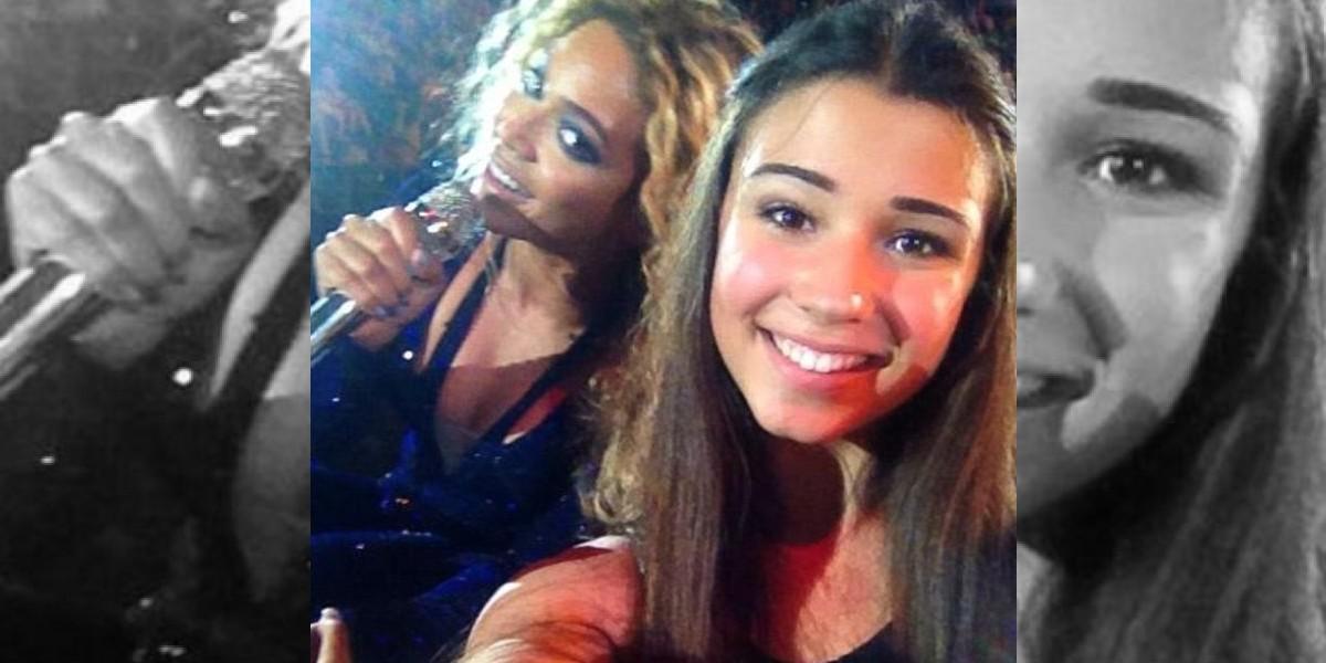 FOTOS: Beyoncé le hace photobomb a una fan