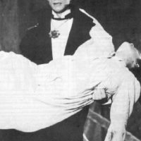 El vampiro, con este personaje, el acto Germán Robles creó a un personaje emblemático dentro del cine mexicano. Foto:Especial