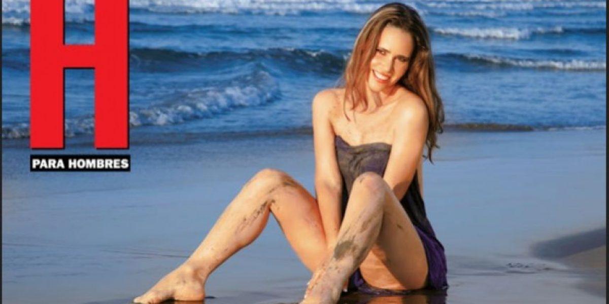 FOTOS: Margarita Magaña posa desnuda para H