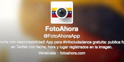 Crean App para subir fotos reales de protestas en Venezuela