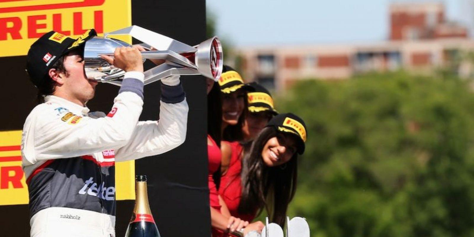 'Checo' terminó tercero en Canadá en 2012 Foto:Getty Images