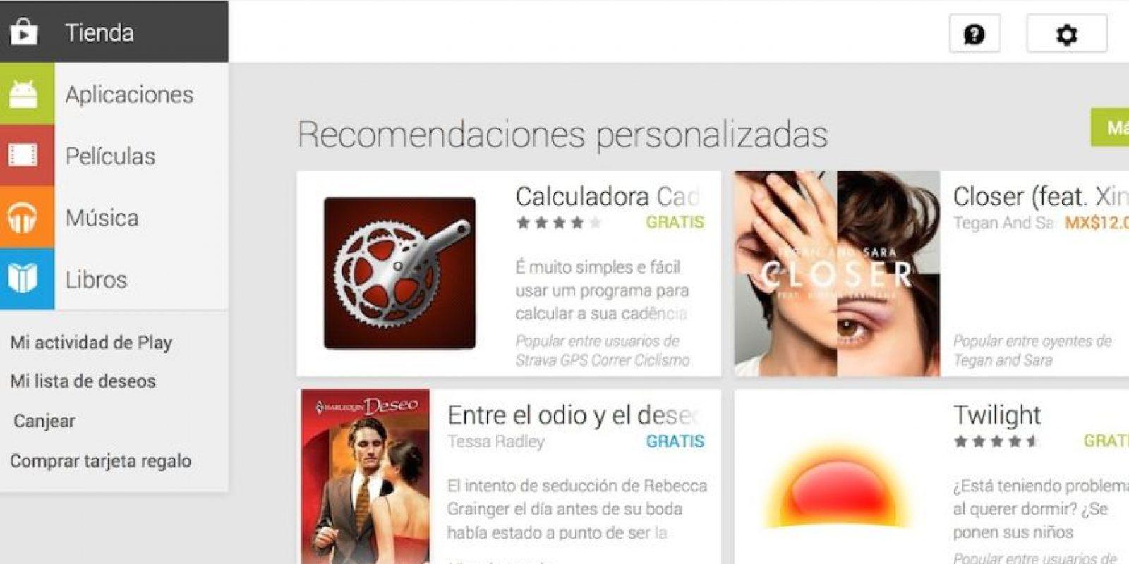 Google Play es en donde se han más descargas. Foto:Google
