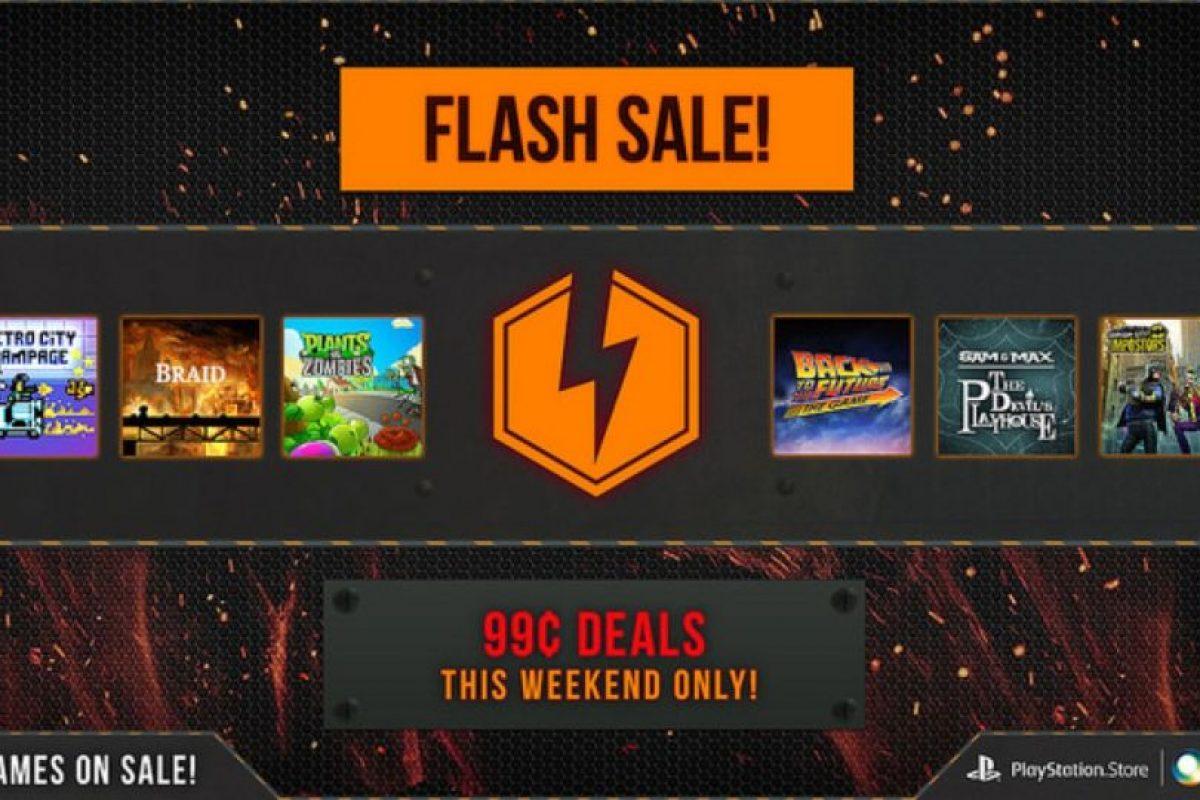 Flash Sale es la promoción. Foto:PlayStation. Imagen Por: