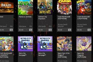 Son 30 títulos entre los que pueden elegir. Foto:PlayStation. Imagen Por: