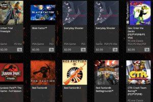 Algunos juegos disponibles. Foto:PlayStation. Imagen Por: