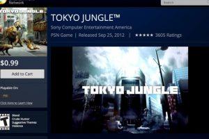 Tokyo Jungle también está disponible. Foto:PlayStation. Imagen Por: