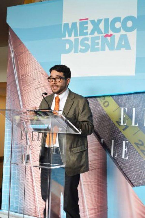 Mauricio Reyna, director general de instituto de Promoción Turística del DF. Foto:Alexandra Ortiz