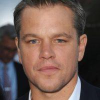 Matt Damon. Es un guionista y actor galardonado con los más importantes premios del cine. Abandonó sus estudios en la Universidad de Harvard para dedicarse a la actuación. Foto:Getty