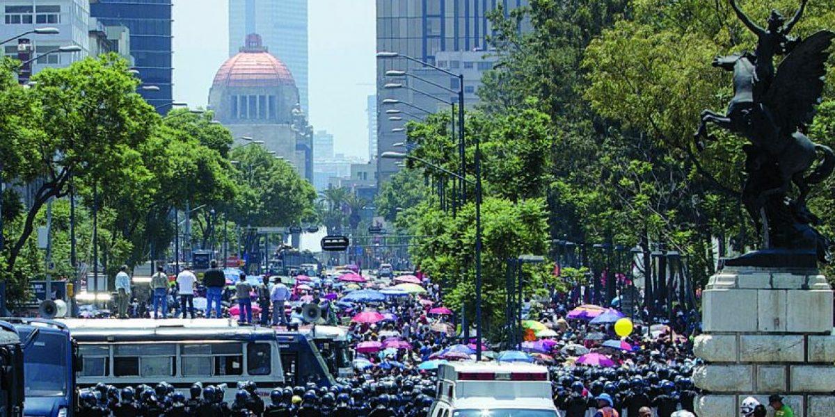 Marchas provocarán cierres viales en la CDMX