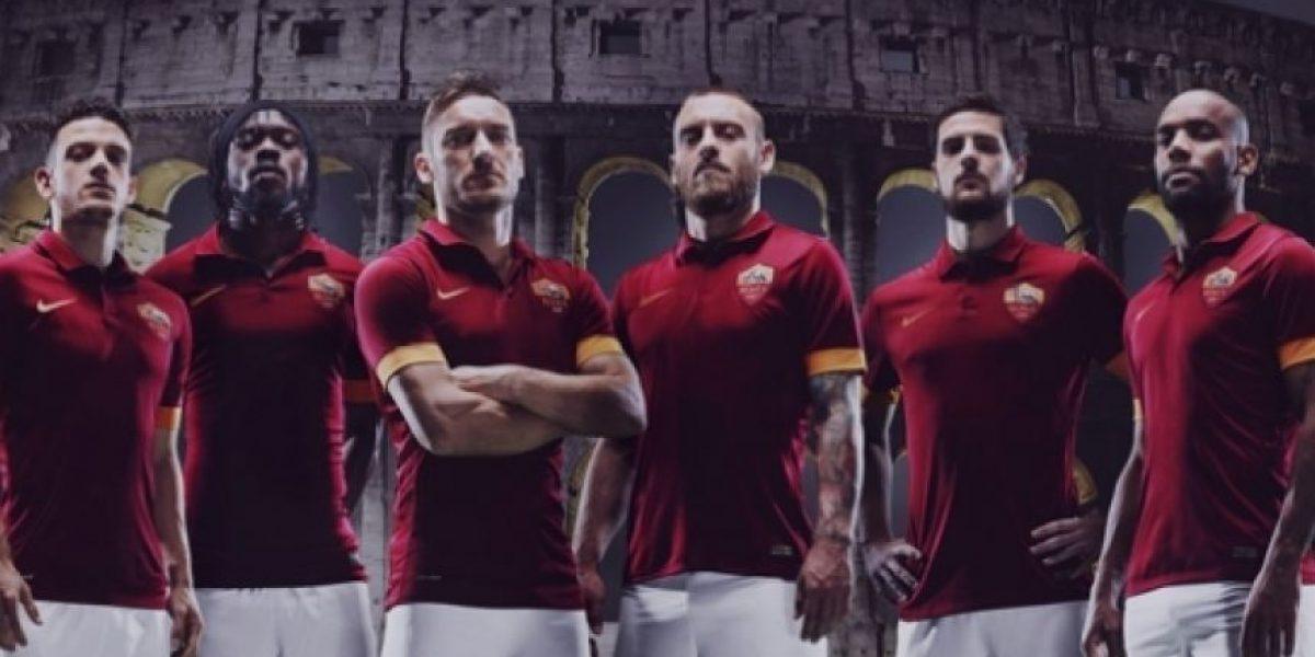 La Roma da a conocer su nuevo uniforme  506e3736776cc