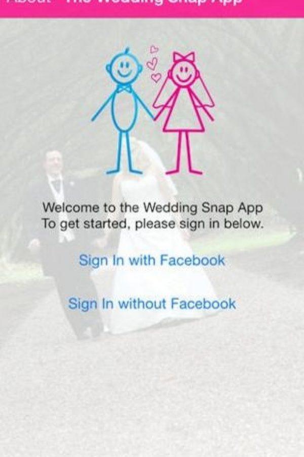 Wedding Snap: permite mantener todo ordenado en álbumes por separados: Compromiso, ceremonia religiosa, fiesta, incluyendo la despedida de soltera. Foto:App Store
