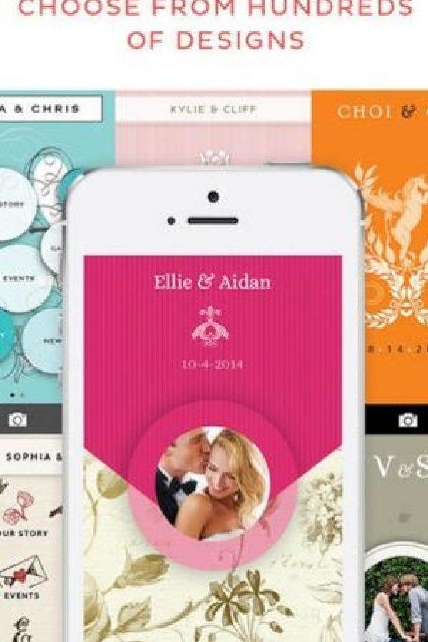 Appy Couple: si no se casan en su ciudad de residencia y quieren informar a los invitados sobre dónde se pueden hospedar, esta app les permitirá cargar toda la información que ellos necesiten. Foto:App Store