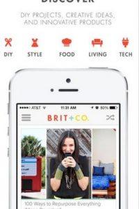 Brit + Co: tiene varias soluciones digitales para poner en práctica el día de la boda. Foto:App Store