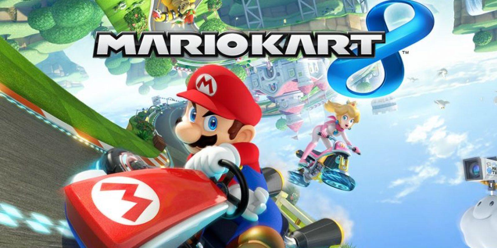 Mario Kart 8 fue lanzado recientemente Foto:Nintendo