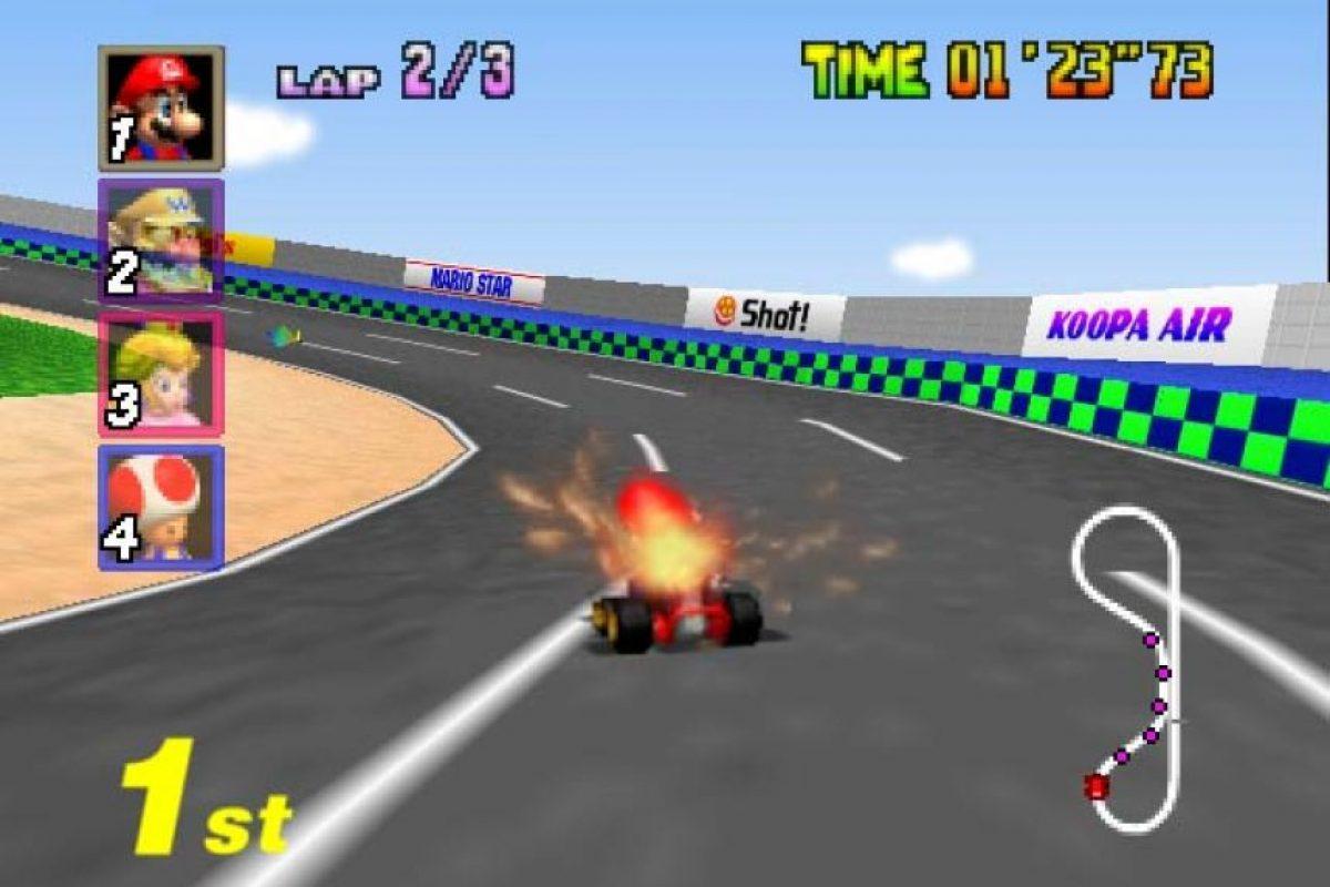 Mario Kart 64 (1996) – Nintendo 64 Foto:Nintendo