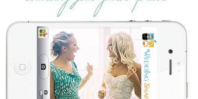Wedding Snap: esta aplicación permite agrupar todas las fotos y videos de los invitados en un álbum en línea. Foto:App Store