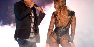 Beyonce muestra el trasero en inicio de gira con Jay Z