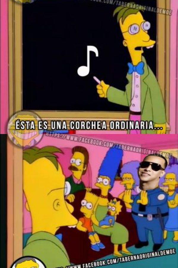 Hasta los Simpsons se metieron en el tema. Foto:Taberna de Moe