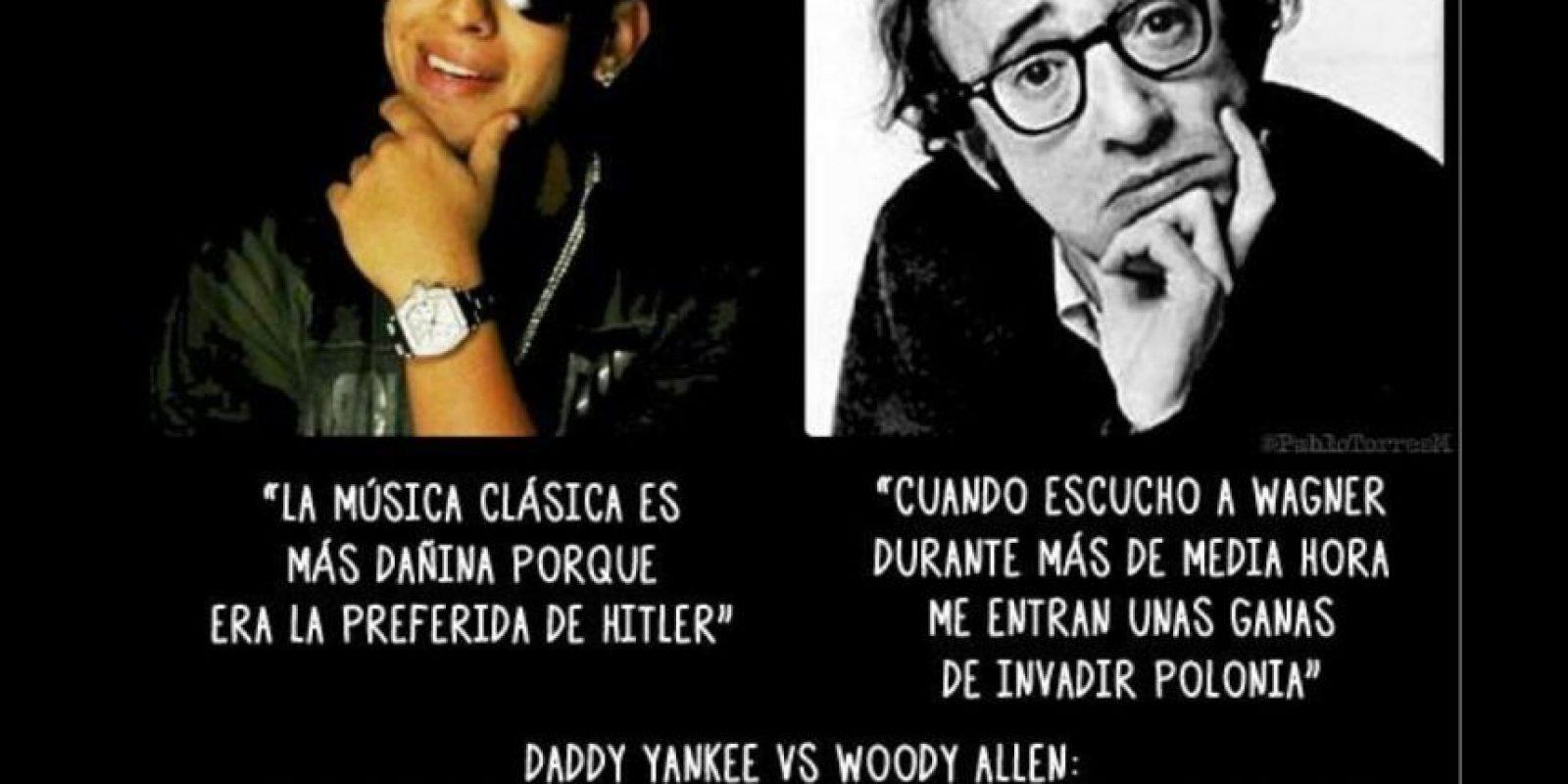 También lo comparan con Woody Allen Foto:Twitter