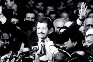 Luis Donaldo Colosio a 23 años de su asesinato