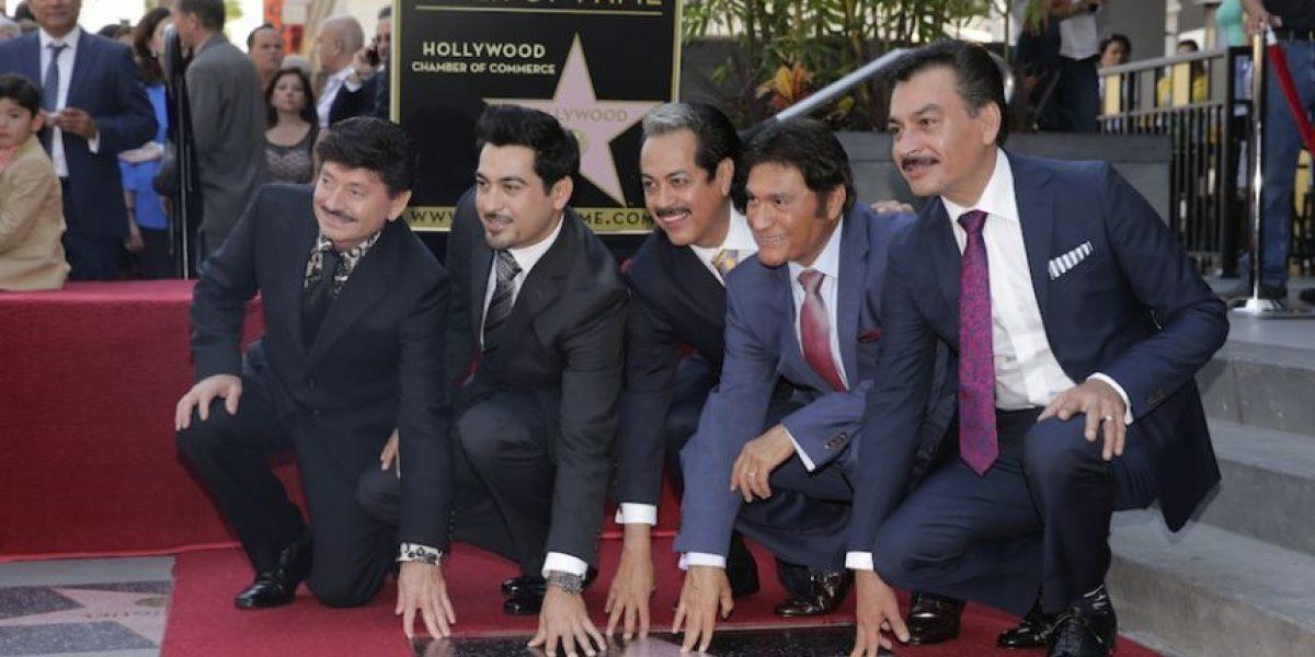 FOTOS: Los Tigres del Norte develan su estrella en Hollywood