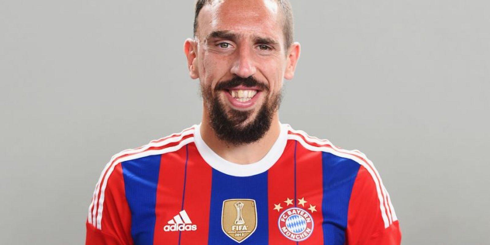 3) Franck Ribéry (Bayern Múnich) 90 puntos Foto:Getty Images. Imagen Por: