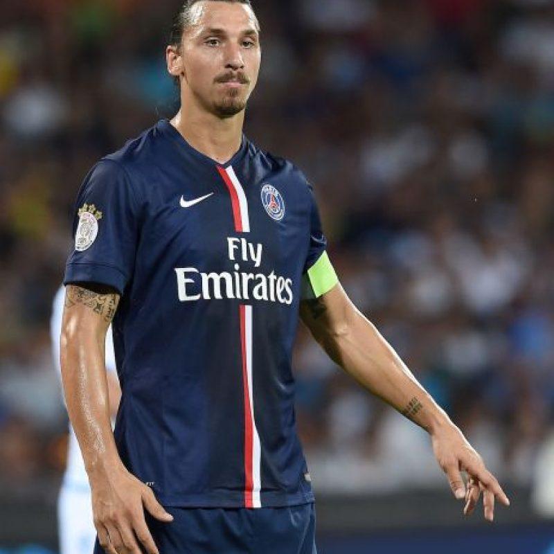 8) Zlatan Ibrahimović (PSG) 89 puntos Foto:Getty Images. Imagen Por:
