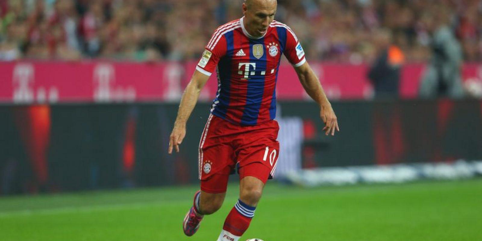 9) Arjen Robben (Bayern Múnich) 88 puntos Foto:Getty Images. Imagen Por: