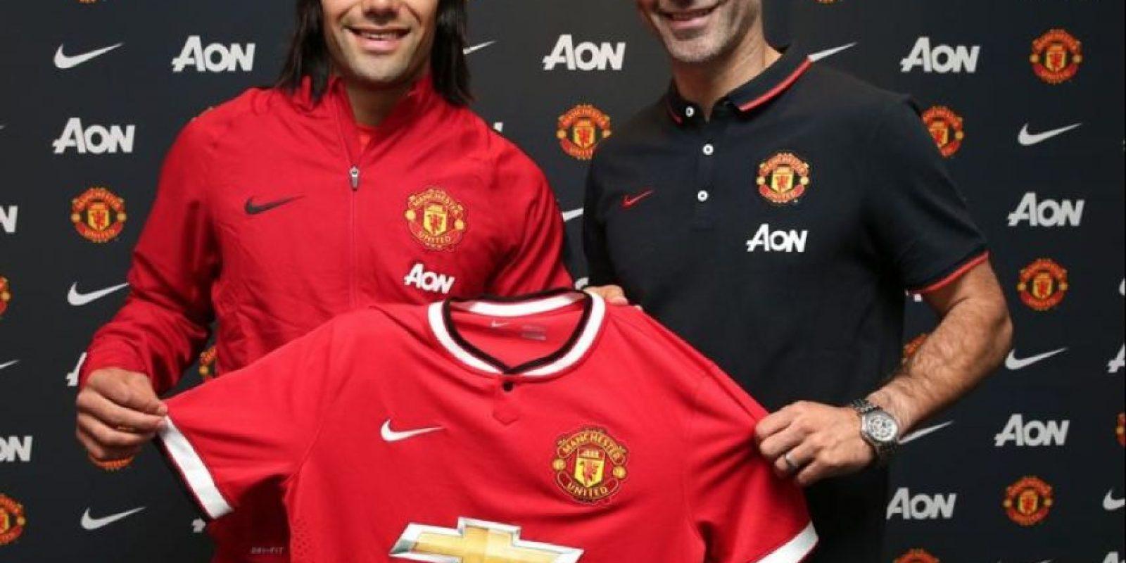 4) Radamel Falcao (Manchester United) 90 puntos Foto:twitter.com/ManUtd. Imagen Por:
