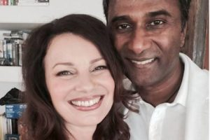 Así luce ahora, aquí la actriz posa con nuevo esposo Foto:Facebook. Imagen Por: