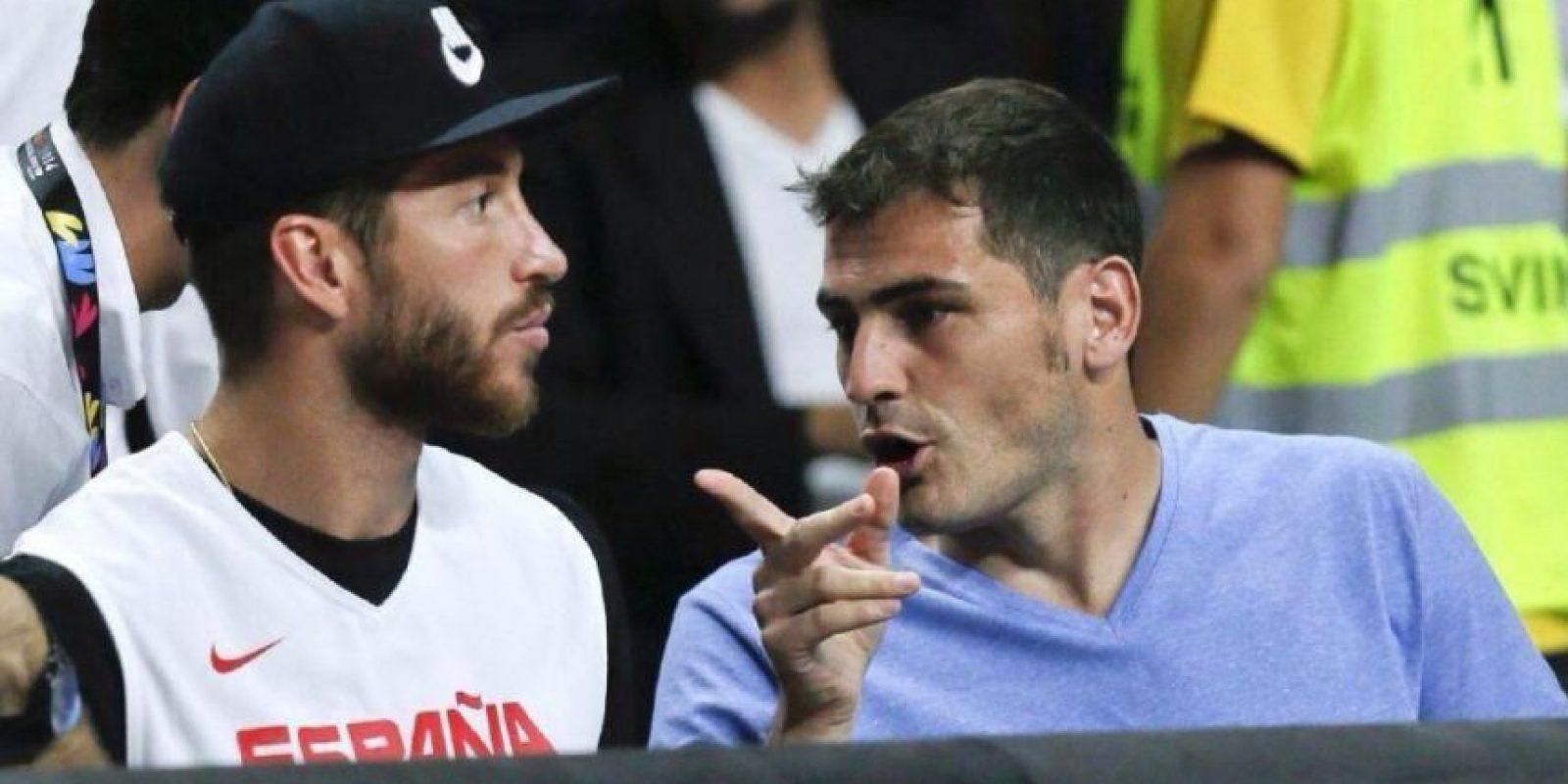Baloncesto El Deporte Rafaga: ¡Mala Suerte! Iker Casillas Y Sergio Ramos Van Al Mundial