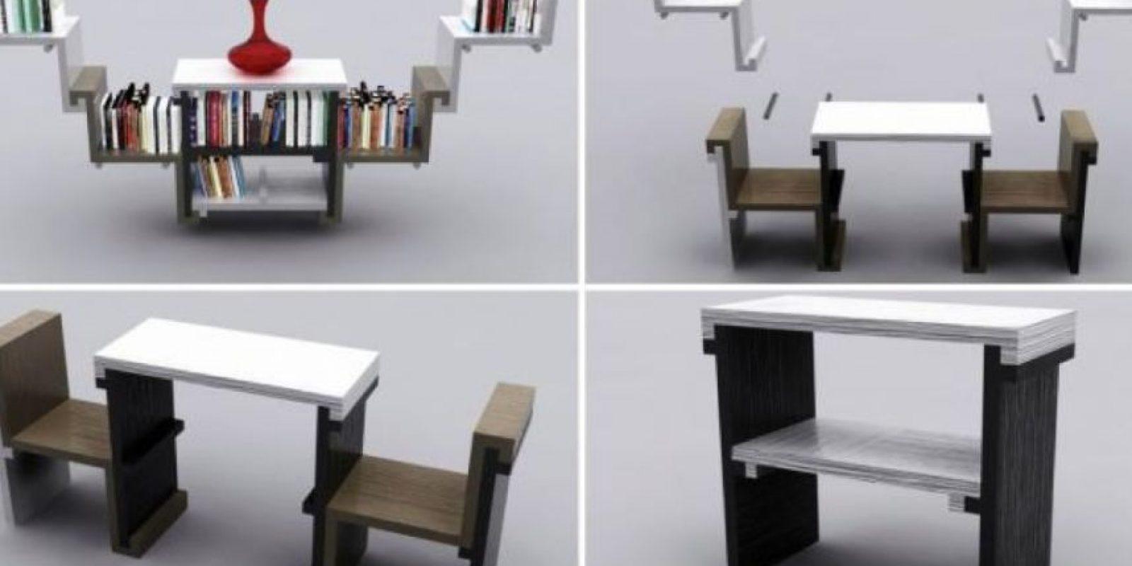 Galer a muebles creativos para ahorrar espacio - Muebles para ahorrar espacio ...