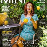 Holly sorprendió a todos con su nuevo look Foto:Vía Mini Magazine