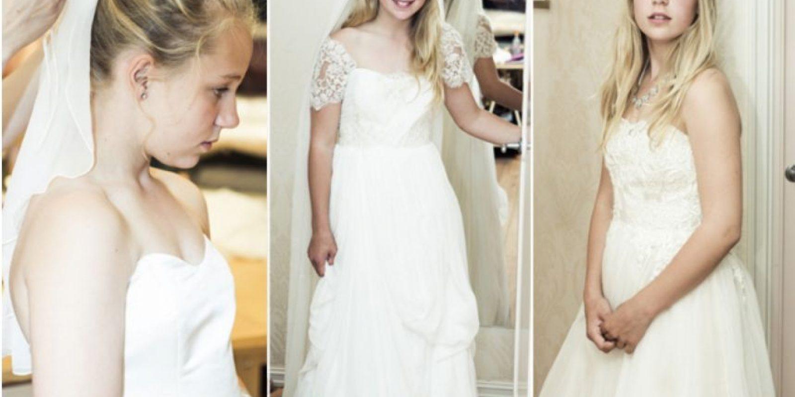 Ha posteado fotos de los preparativos de su boda. Foto:TheasBryllup