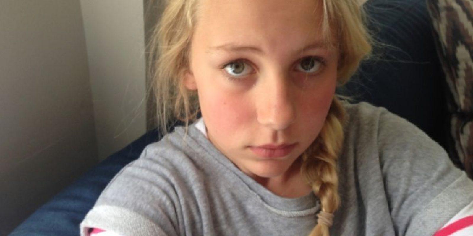 Ella es Thea. Tiene 12 años. Foto:TheasBryllup