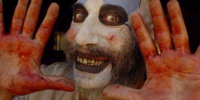 """Rob Zombie ha dirigido dos películas con un personaje llamado """"Captain Spaulding"""". Foto:Vía IMDB"""