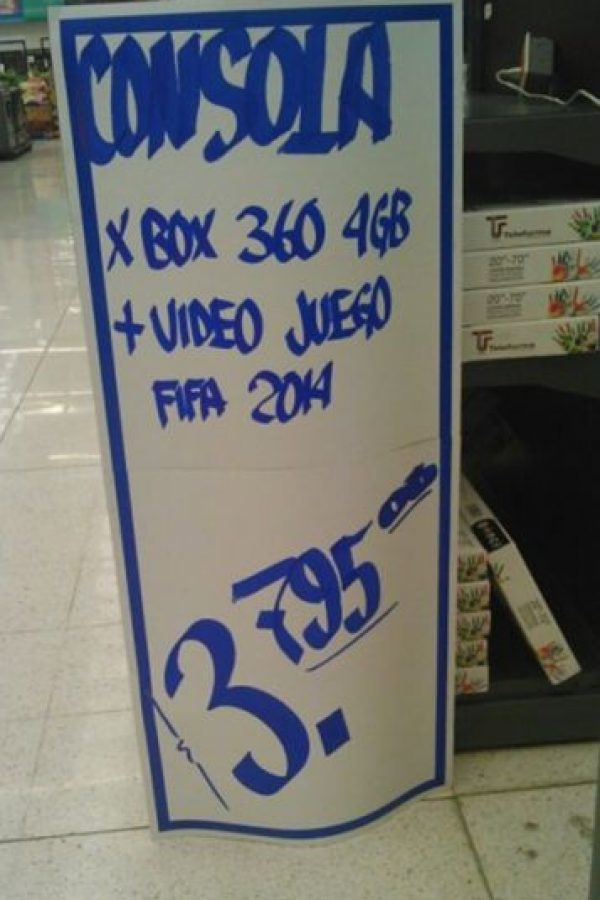 Fue en Playa del Carmen donde las oferta traicionarón a una tienda de autoservicio al vender un producto de 3 mil pesos en 3 pesos. Foto:Especial